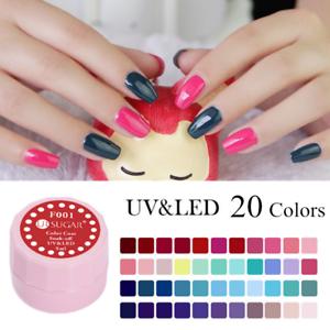 5-Boxen-Set-5ml-Nail-Art-Soak-off-UV-Gel-Nagellack-Manikuere-Tipps-DIY-UR-SUGAR