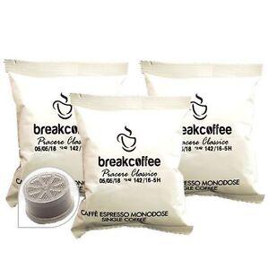 300 CIALDE CAPSULE COMPATIBIL LAVAZZA ESPRESSO POINT CAFFE' BREAK COFFE CLASSICO