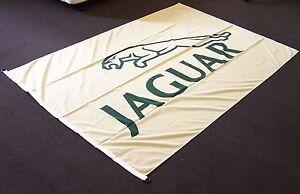 HUGE-JAGUAR-JAG-LOGO-178x120cm-BANNER-FLAG-w-NYLON-CLIPS-CAR-AUTOMOTIVE