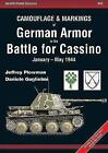 Armor Color Gallery: Camouflage and Markings of German Armor in the Battle for Cassino : January-May 1944 13 by Jeffrey Plowman and Daniele Guglielmi (2015, Paperback)