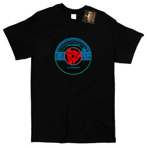 New Order 'Blue Monday' Vinyl Record Inspired T-shirt - Classic 80's Music Song