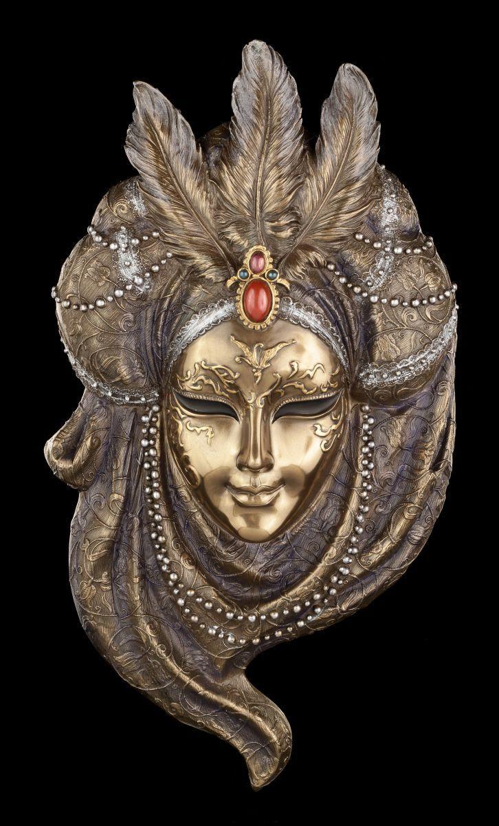 Masque Vénitien - Pearl Collier - Veronese Visage Déco Mur Carnaval
