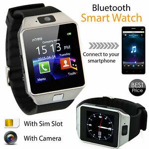 Smart-Bluetooth-Wrist-Watch-DZ09-Multifunction-Touchscreen-Digital-Phonemate-US