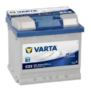 VARTA BLUE dynamic 552 400 047 3132 C22 12Volt 52Ah Starterbatterie