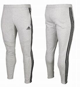 Adidas-Men-039-s-Tiro-19-French-Terry-Pants-Training-Tapered-Sport-Grey-Bottoms