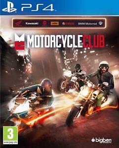 Motorcycle Club Ps4 Sec.  (Leer Anuncio)