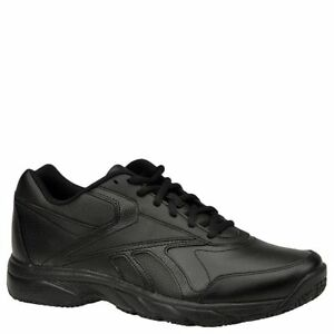 6bef0add291 Reebok Women Duty Proof Oil Slip Resistant Memory Foam Shoes Black ...