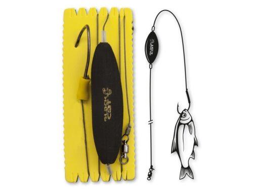 Black Cat U-Float Rig Single Hook 120cm L-XL Catfish Rigs Leader