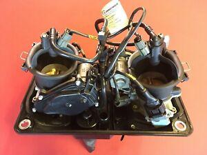 D34 DUCATI Panigale 1199 S R Einspritzung injector Drosselklappe Set Komplett