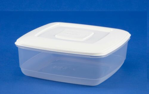 NEW WHITEFURZE  PLASTIC FOOD TUB STORER STORAGE CONTAINER CAKE LUNCH BOX TYPES