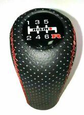 Chrome ronde en aluminium Gear Knob For Nissan Navara Pathfinder Qashqai X-TRAIL