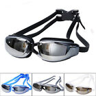 Adult Professional Waterproof Anti-Fog UV Protect Swim Glasses Swimming Goggles