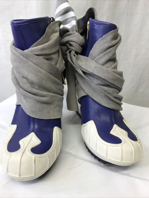 Adidas Y-3 by Yohji Yamamoto Women's Nomad Wedge Ankle Boot Size US 6  G63690