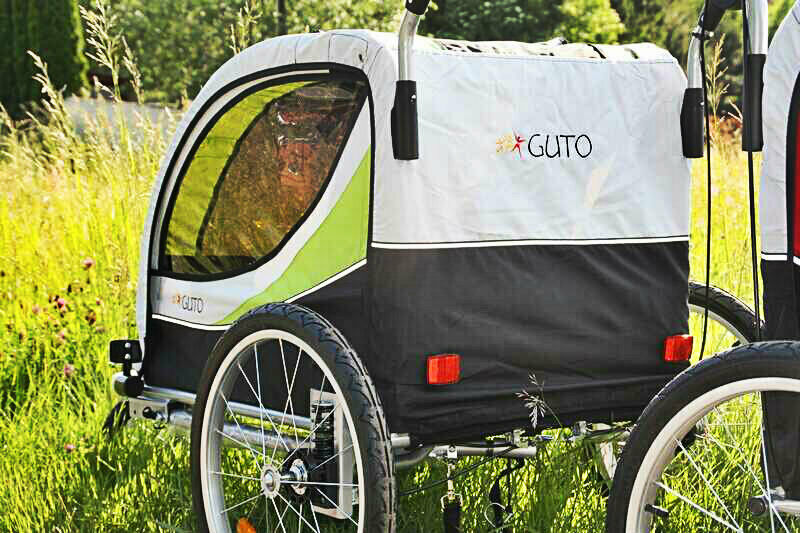 Guto the trailer 2in1 jogger stroller great robust modern look comfort safety