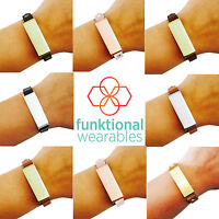 Chic Single Strap Bracelet For The Fitbit Flex With Adjustable Buckle Closure