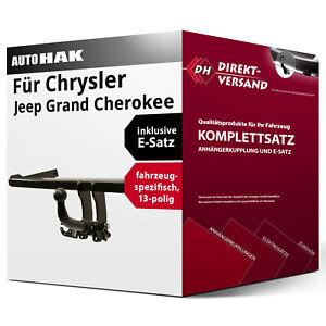 13pol E-Satz spez. Anhängerkupplung Für Jeep Grand Cherokee WK 10-13 abnehmbar