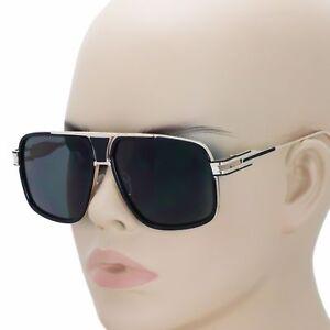 015df189901 Retro Square Hip Hop Sunglasses Vtg Gazelle Vintage Oversized Flat ...