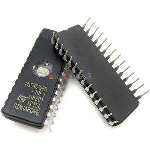 5PCS IC M27C256B-12F1 27C256 CDIP-28 ST NEW GOOD QUALITY
