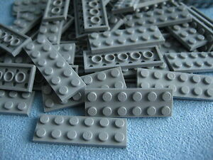 91988 Neu Platten City light bluish gray Lego 10 Stück Platte 2x14 in hellgrau