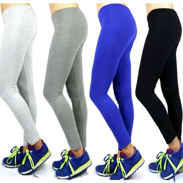 USA Women Athletic Workout Fitness Training Yoga Waistband Tights Cropped Pants