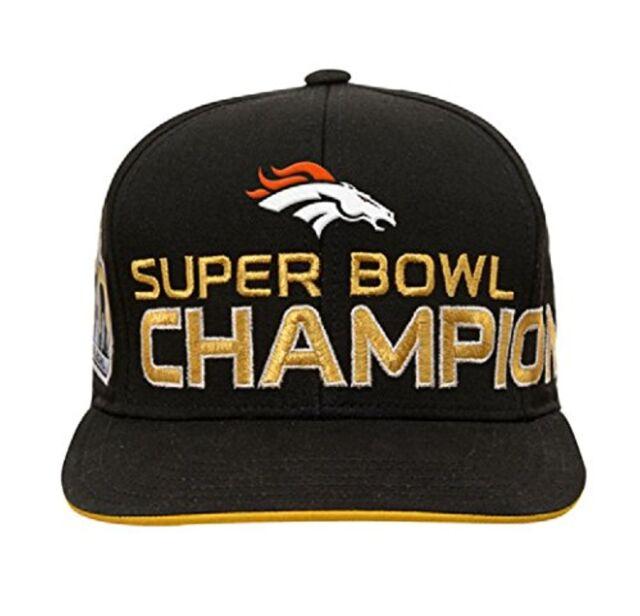 e0424046893 Denver Broncos NFL Super Bowl 50 Champions Youth Adjustable Strap Cap Hat