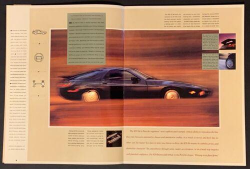 "RARE /""Sealed/"" 1987 Porsche 928 S4 Prestige 11/""x14/"" Introductory Sales Catalog"