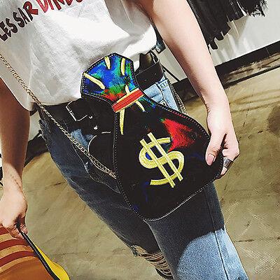 Fashion Shiny $ Womens Casual Satchel Shoulder Messenger Cross Body Bag Handbag