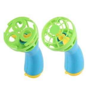 Qzo-Bubble-Blower-Waffe-Sommer-Lustig-Maker-Mini-Luefter-Kinder-Aussen