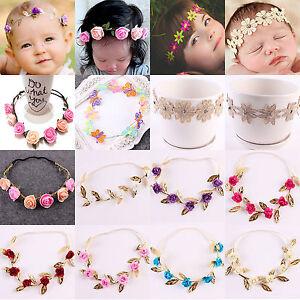 Image is loading Fashion-Baby-Girl-Toddler-Kids-Elastic-Leaf-Flower- bc9406d70e4e