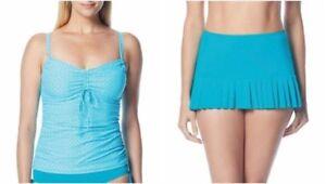 766c6857e8 BEACH HOUSE® 16 Underwire Tankini Top & Pleated Skirt 2-pc Swim Set ...