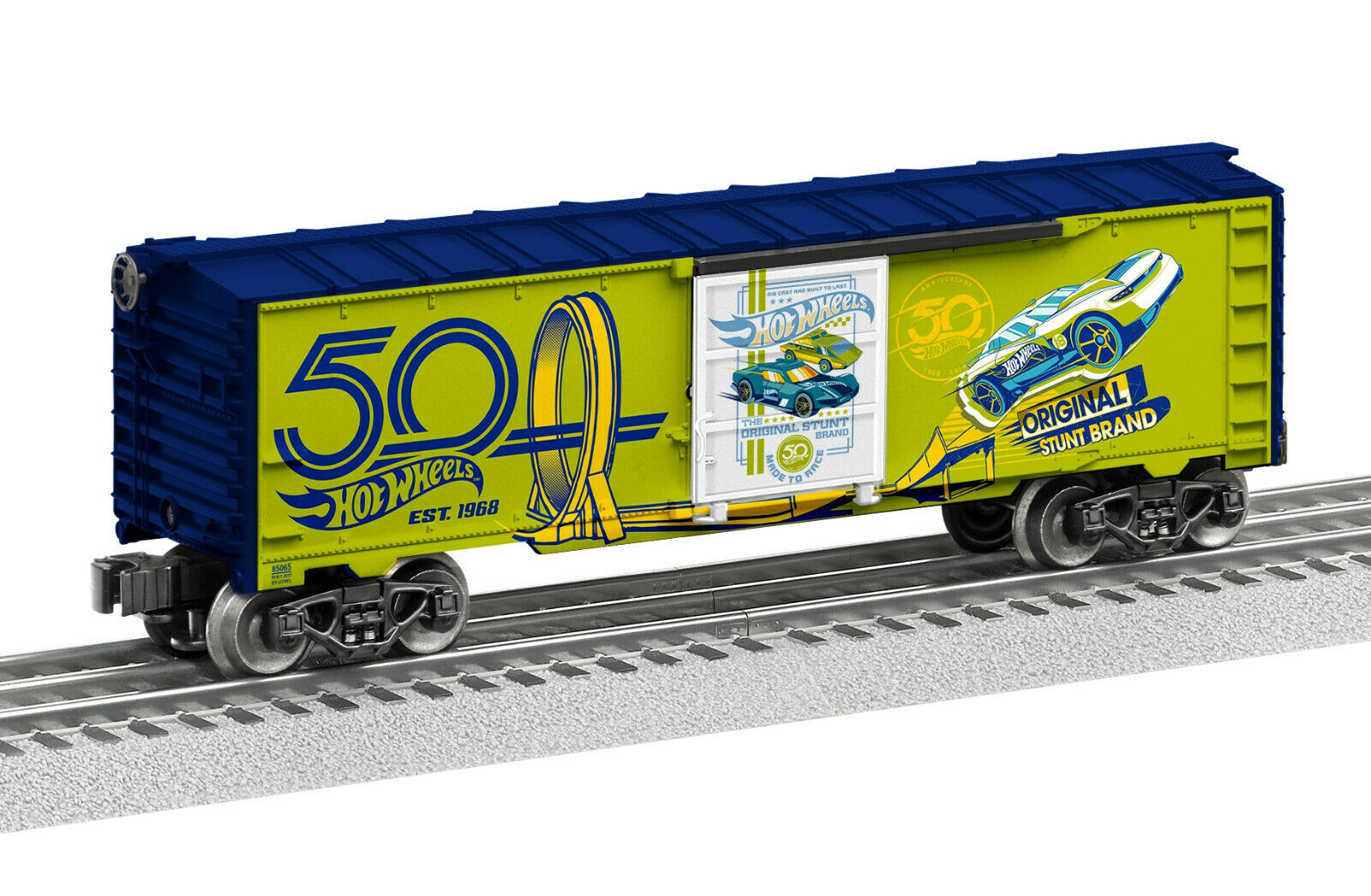 Lionel 6 -85065 heta hjul 50th Annivery grön låda O 027 2018 New U.S.A.