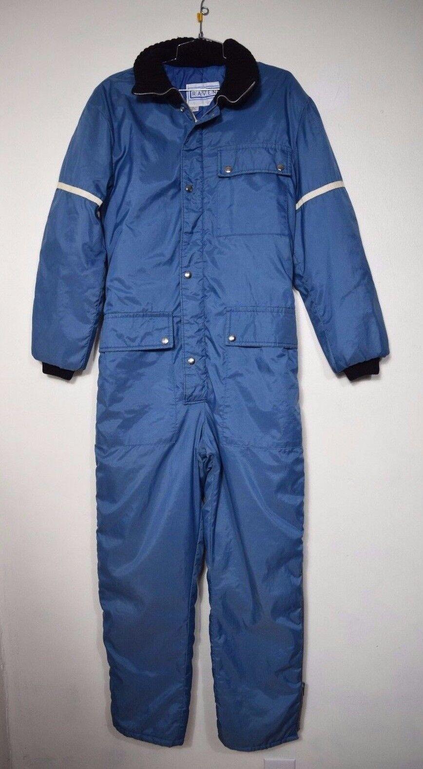 Raven Ski Wear Vintage Men's Ski Snowboarding Suit Size See All Measurements