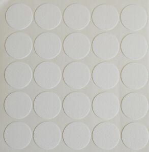 20 X 18 Mm Autocollante Vis Trou Cam Bouchon Blanc Meuble Cuisine Chambre à Coucher-afficher Le Titre D'origine Hsh81sgc-07163857-247780979