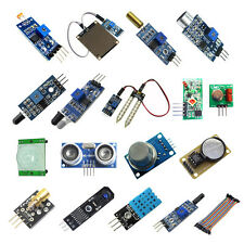 16in1 Kit Set Sensor Module+Cable Part Repair Accessory For Raspberry Pi Arduino