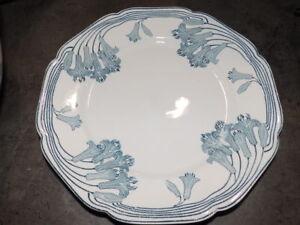 PETRUS-REGOUT-Maestricht-Decor-CLEVIA-Art-Nouveau-Assiette-plate