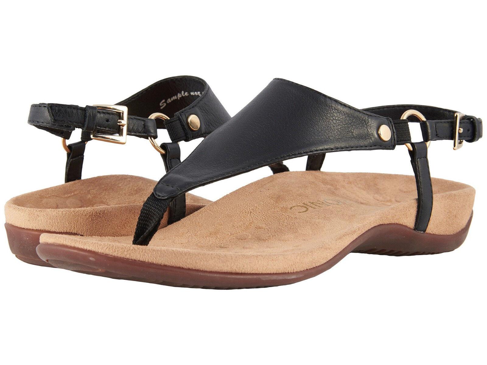 mujer Vionic Orthaheel Kirra Slingback Strap Sandal KIRRA negro 100% Authentic