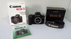 Canon EOS 3 Spiegelreflexkamera, Top Zustand