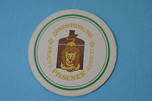 1991 Bière Dessous De Verre ~ Schadts Brauerei Gasthaus Pilules~ Braunschweig, Kmgz6m8s-07223327-767430587