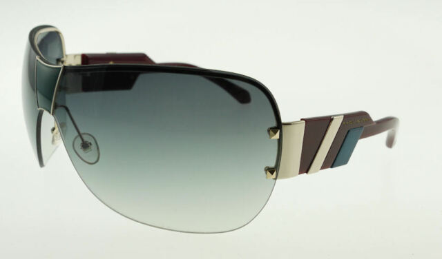 Marc Jacobs 200 OZQ Gold Burgundy Blue / Green Sunglasses