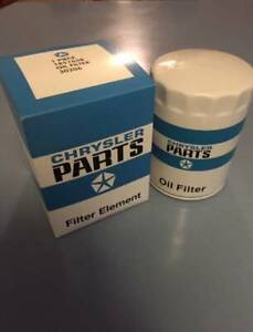 NEW-1964-1971-Dodge-or-Plymouth-A-Body-Blue-and-White-Mopar-Engine-Oil-Filter