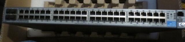 HP ProCurve 2810-48G 10/100/1000 L2 Stackable Switch 48 J9022A looks unused