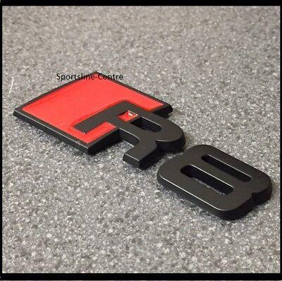 RS5 Badge Emblème Autocollant Logo A5 S5 RS S Audi Couvercle Coffre Arrière