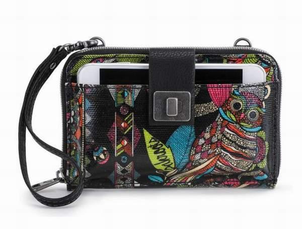 save off 8c2bb b3894 Sakroots Smartphone Wristlet Wallet Crossbody Neon Spirit Desert iPhone 6