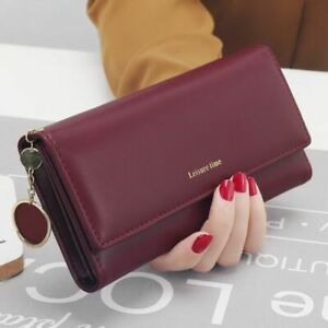 Women-Wallet-Long-Style-Multi-functional-Purse-Leather-Female-Clutch-Card-Holder
