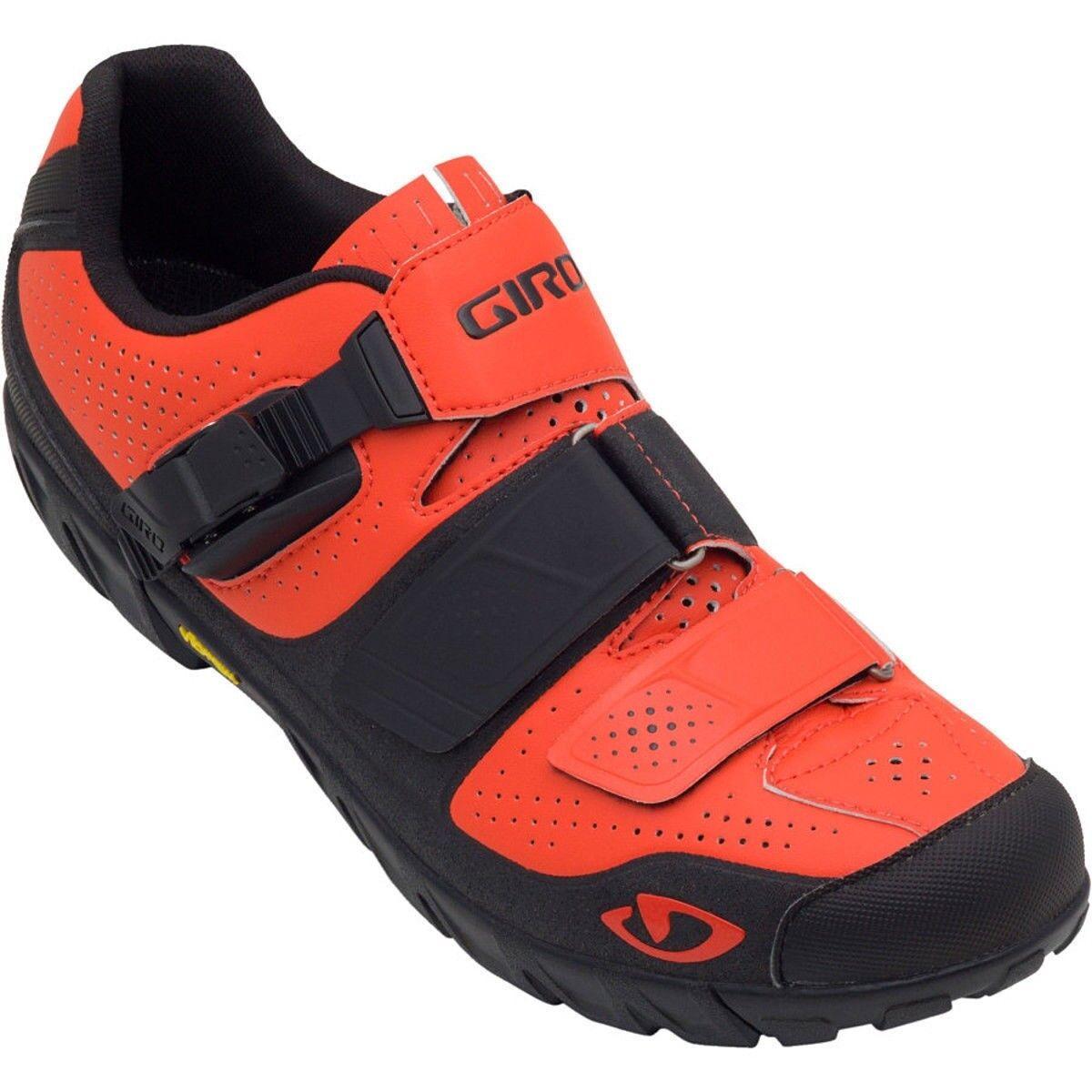 New GIRO Terraduro Cycling shoes Red