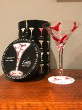 """Hand Painted Lolita /""""Red Panty/"""" Love My Martini 10 oz"""