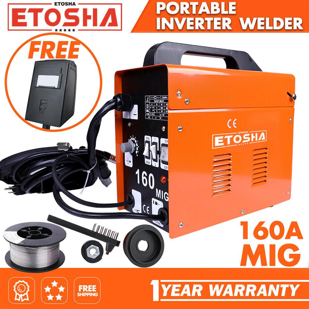 USEB-WM001 top-series-usa MIG 160A Welder Inverter Flux Core Wire Gasless ARC AC Metal Welding Machine
