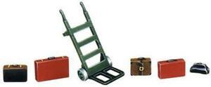 Peco-LK-752-O-Gauge-Porters-Trolley-amp-Luggage