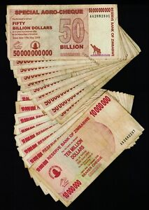 50 Billion Dollars Zimbabwe Agro Cheque