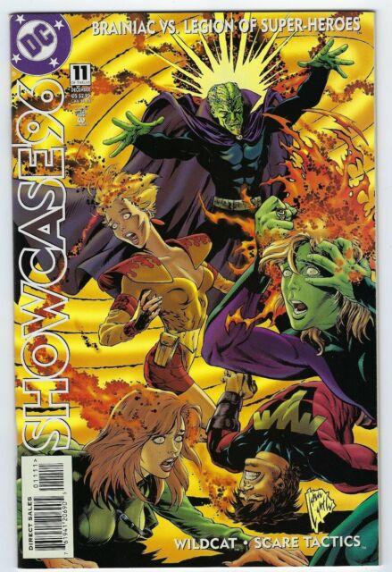 SHOWCASE 96 Brainiac #11 (1996 DC Comics) High Grade copy.